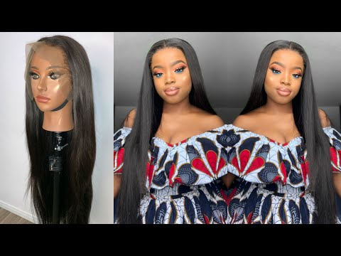 GRWM: Most Natural Aliexpress Mink Lace Wig Ever No Baby Hair || ft. AliPearl