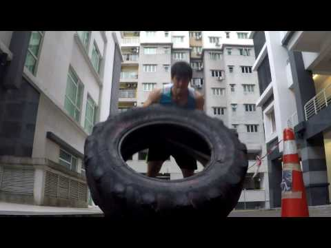 Metabolic Conditioning with Tyres and Prowler