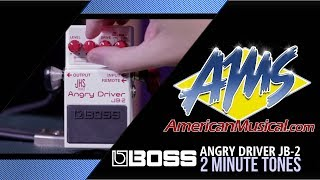 Boss JB2 Angry Driver 2 Minute Tones - American Musical Supply
