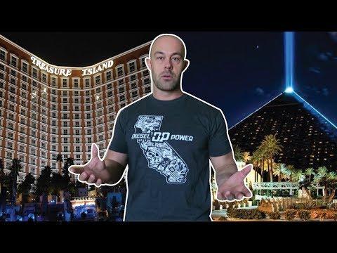 Treasure Island Hotel vs Luxor Hotel in Vegas Review. | Vlog 9