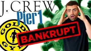 Companies Bankrupt by Coronavirus
