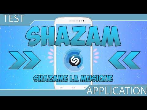 Identifier une musique ou émission de télévision - Shazam