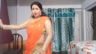 Bangla gadi jhumke kangna sab de dena usko sajna   dance caver by Sanjana
