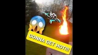Drib Skyeliner FPV DJI HD Into The Fire