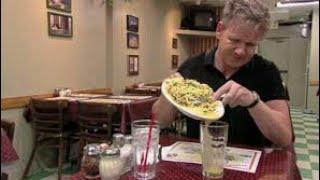 Disgusting Chef serves Gordon Ramsay week old food