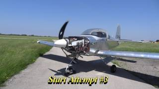 RV Aircraft Video - Canada - Mike's First Engine Start - RV-9A