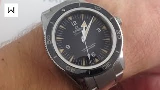Omega Seamaster 300M Master Co-Axial Luxury Watch Review