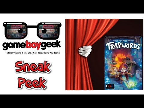 Trapwords Sneak Peek & (Prelude) Mini Review with the Game Boy Geek