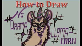 How To Draw A Llamacorn Free Video Search Site Findclip