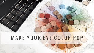 BEST EYESHADOWS FOR YOUR EYE COLOR