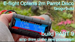 Grogu | E-flite Opterra 2m | Parrot Disco HYBRID Project - FPV long range drone build ~ PART 9