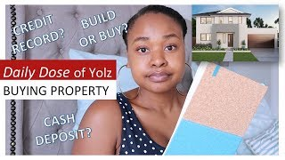 DETAILED Q&A - buying property, credit and bond repayments