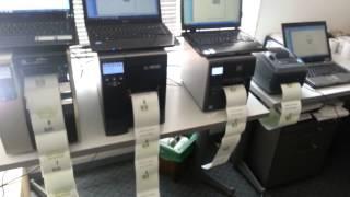 Zebra ZT230 Barcode Printer เครื่องพิมพ์บาร์โค้ดสติกเกอร์ ซีบร้า