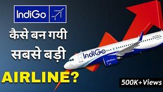 Indigo Airlines Success Story| Business Model | Case Study (HINDI)