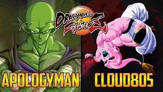 DBFZ ▰ ApologyMan Vs Cloud805 【High Level Dragon Ball FighterZ】