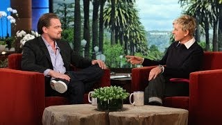 Leonardo DiCaprio Discusses 'The Wolf of Wall Street'