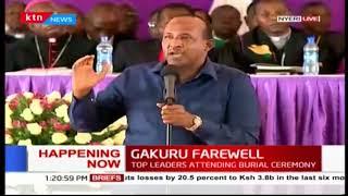 House Speaker Aden Duale's prophecy of President Kenyatta being sworn in as president
