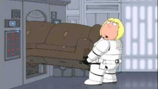 Family Guy Presents Blue Harvest: 'Save The Couch' Clip