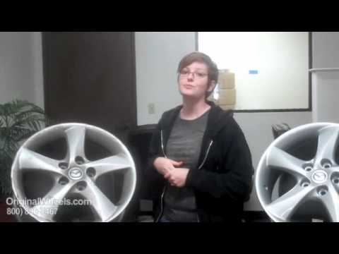 Millenia Rims & Millenia Wheels - Video of Mazda Factory, Original, OEM, stock new & used rim Co.