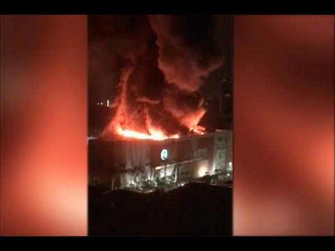 Voraz incendio en centro comercial Buenavista II de Barranquilla   Noticias Caracol