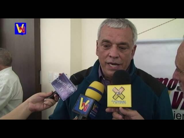 Richard Páez presentó en Trujillo el Movimiento Somos Vinotinto
