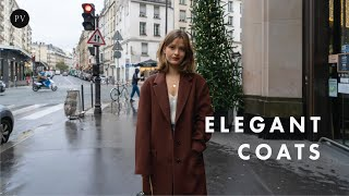 Elegant French Coats You Need To See This Winter | Parisian Vibe