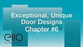 Exceptional, Unique Door Designs