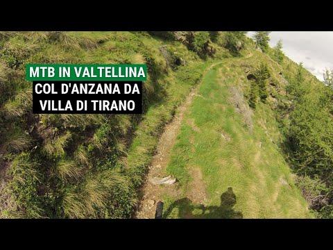 Anello del Col d'Anzana da Villa di Tirano