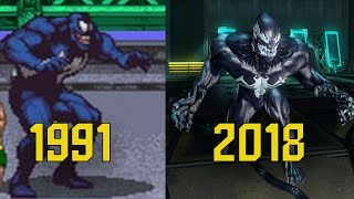 Evolution Of Venom In Spider-Man Games (1991-2018)