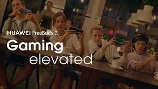 YouTube Video Qfq-xx_0_cc for Product Huawei FreeBuds 3 Headphones by Company Huawei Technologies in Industry Headphones
