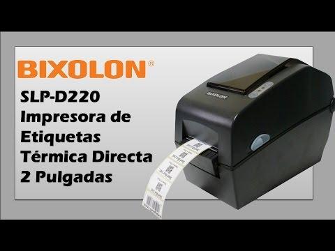 Bixolon SLP-D220 Impresora de Etiquetas Térmica Directa de 2 Pulgadas