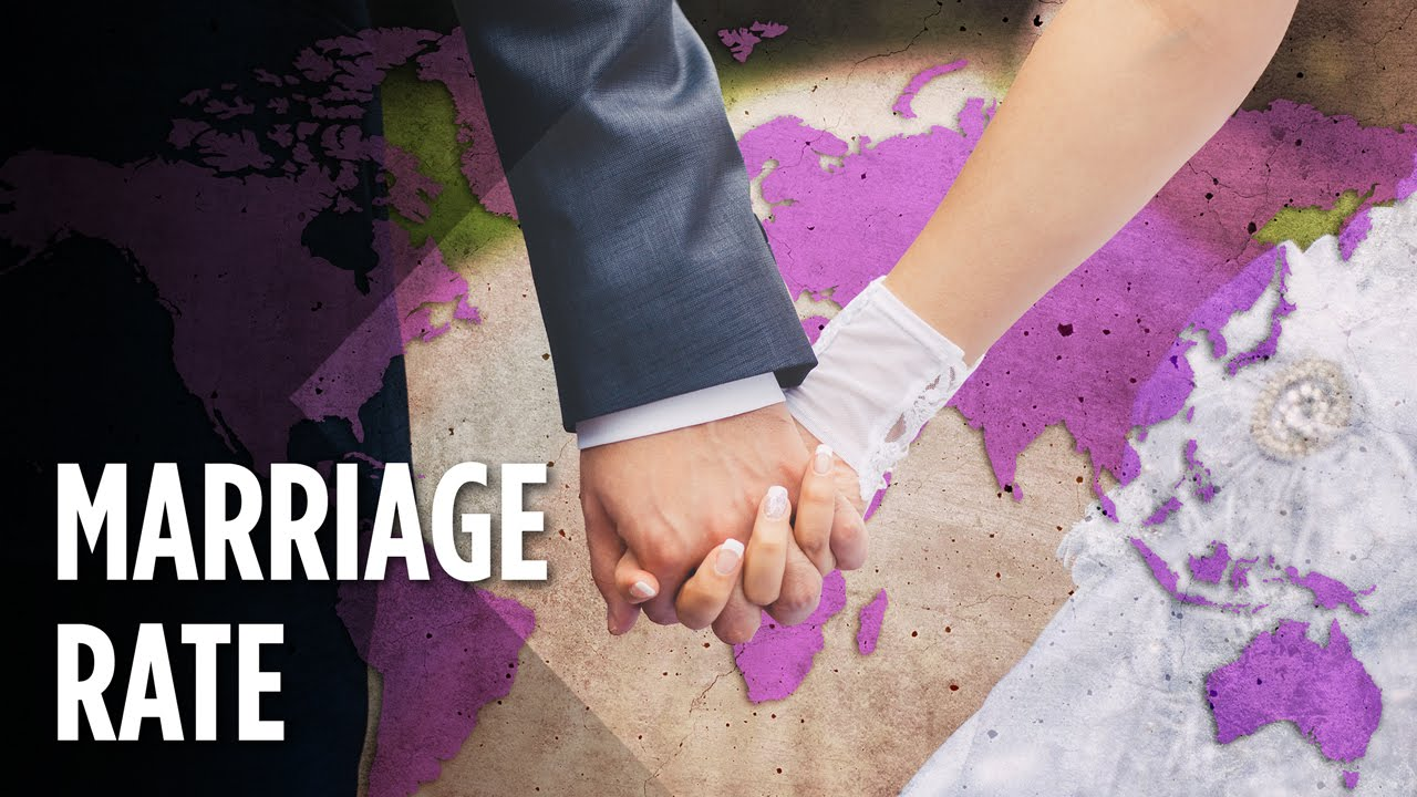 Which Countries Have The Highest Marriage Rates? thumbnail