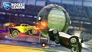 Rocket League tournament but the first goal wins the game