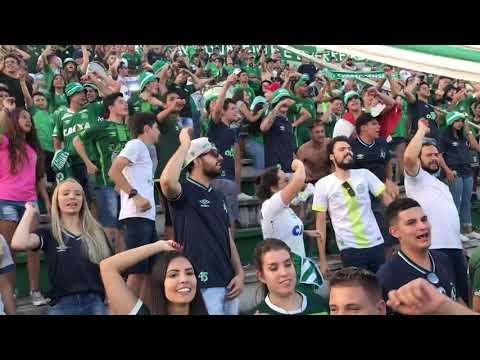"""Chape x Figueirense - Semifinal Catarinense 2019 - Chapecoense eu sou"" Barra: Barra da Chape • Club: Chapecoense"