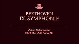 Ludwig van Beethoven - Symphony No. 9 | Herbert von Karajan
