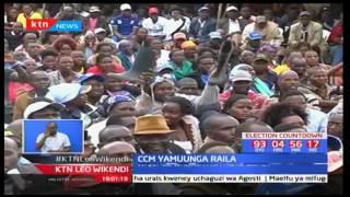 Kinara wa CCM Isaac Ruto ameapa kumkampeinia Raila Odinga katika bonde la ufa nchini