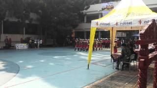 Paskibra SD Cimekar Cileunyi Kab Bandung  Di SMU BPI Bandung