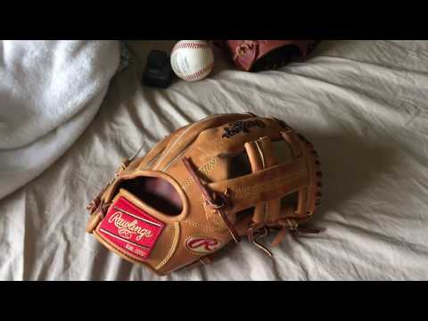 Rawlings Heart Of The Hide TT2 Game Day Glove REVIEW – This Is Baseball Swag.