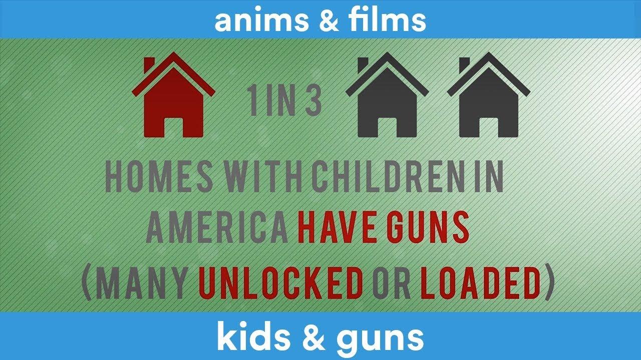 Kids & Gun infography