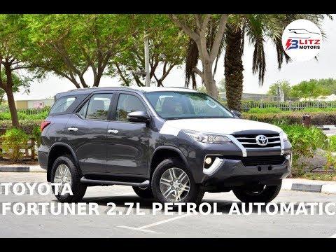 2020 MODEL TOYOTA FORTUNER SR5 2.7L PETROL AUTOMATIC