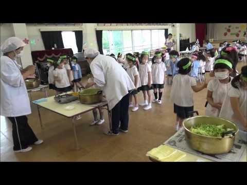 ともべ幼稚園「スープパーティ」
