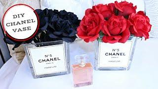 DIY Chanel Inspired Vase: Tumblr Inspired