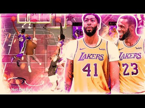 LEBRON JAMES and ANTHONY DAVIS DOMINATE TOXIC TRY HARDS in NBA 2K19