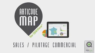 Piloter son activité commerciale et sa force de vente avec Articque MAP for QlikView