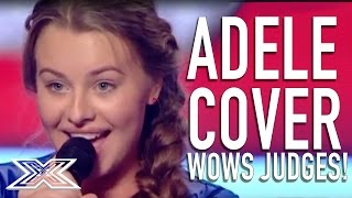 "Cover of Adele's ""Set Fire To The Rain"" WOWS judges! 