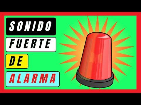 🚨Ruido de alarma, ruido de sirena, sonido de alarma contra robo, ruido de alarma generica