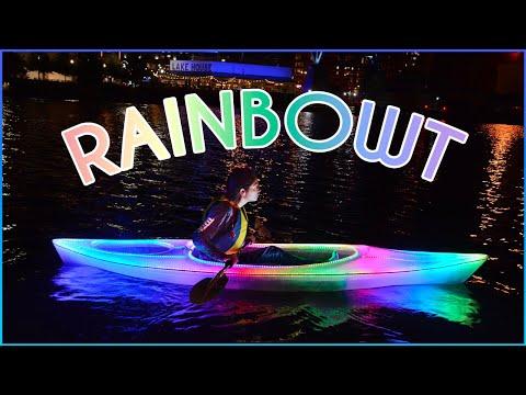 Making a Rainbow Kayak