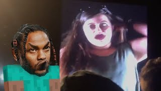 Kendrick Lamar stops White Girl singing on stage