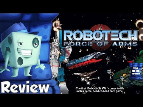 Robotech: Force of Arms Review - with Tom Vasel