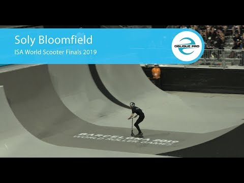 Soly Bloomfield - ISA Men's World Scooter Semi Finals 2019